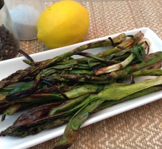 Grilled Asparagus and Scallions