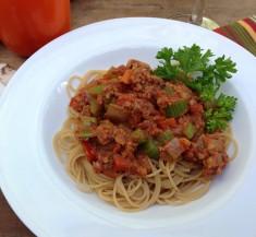 Surprise Spaghetti Bolognese