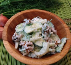 Creamy Cucumber and Fennel Salad