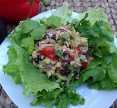 Mexican Inspired Tuna Salad