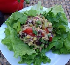 Mexican Inspired Tuna Salad