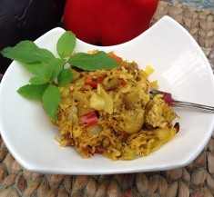 Indian Chicken Biryani