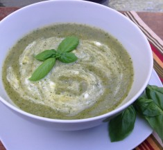 Zucchini and Basil Soup