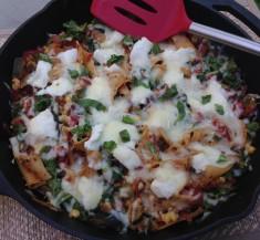 One Pan Vegetarian Lasagna