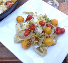 Roasted Tomato, White Fish and Fennel