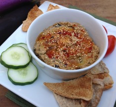 Roasted Garlic Baba Ganoush