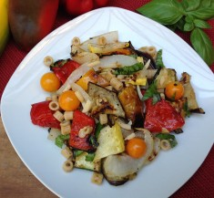 Grilled Veggie Salad with Greek Vinaigrette