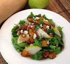 Pear and Butternut Squash Salad