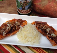 Oktoberfest Inspired Potato Skins