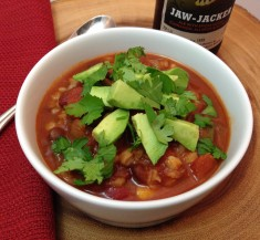 Slow Cooker Chipotle Veggie Chili