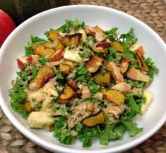 Maple Roasted Acorn Squash and Quinoa Salad