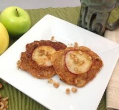 Apple Peek-a-Boo Pancakes