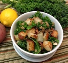 Potato and Lentil Salad with Lemon Caper Vinaigrette