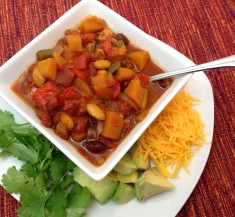 Slow Cooker Curried Butternut Chili