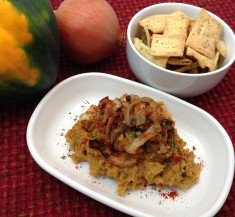 Acorn Squash and Caramelized Onion Dip