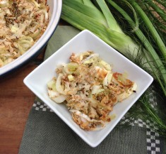 Fennel and Leek Al Forno