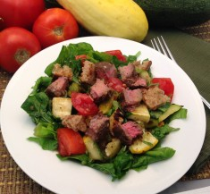 Grilled Steak Panzanella Salad